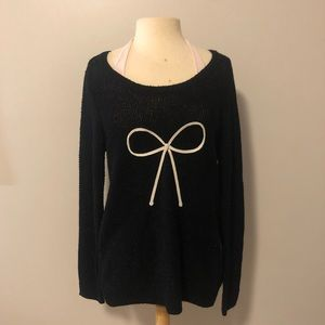 LC Lauren Conrad Bow Sweater